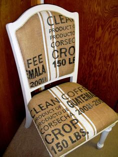 Fay Grayson Home: Reproduction Coffee Sack Chair