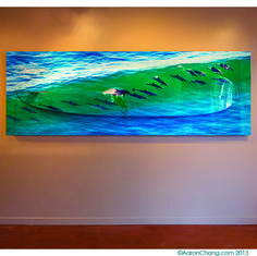 Magnificent pod of 21 dolphins ride a wave on this 17 foot long surf sculpture. Absolutely one of a kind, delightful piece. Call the gallery for inquiries: Custom Surfboards, Photo Wrap, Ocean Art, Art World, Dolphins, Surfing, Waves, Sculpture, Gallery