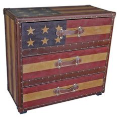 Americana 3-Drawer Chest - Home and Garden Design Ideas