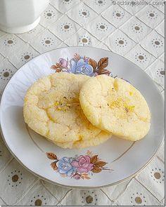 Orange Shortbread Cookies   Egg free / Dairy free