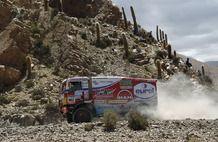 Dakar 2013, stage 7: Calama - Salta. Eurol VeKa MAN rally team