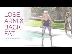 NEW! Lose Arm and Back Fat | Rebecca Louise - YouTube