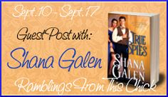 Ramblings From This Chick: Guest Post with Author Shana Galen and Giveaway Book Review Blogs, Romance Books, Special Events, Giveaway, Author, Romance Novels, Romance