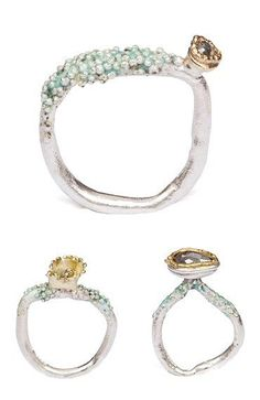 http://TheCarrotbox.com modern jewellery blog : obsessed with rings // feed your fingers!