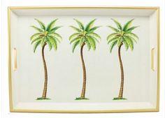 Palm Tree Coffee Tray