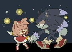 Amy & Sonic !!