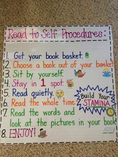 Teach Your Child to Read - Mrs. Terhunes First Grade Site!: Anchor Charts - Give Your Child a Head Start, and...Pave the Way for a Bright, Successful Future...