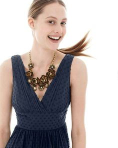 J.Crew Marlowe dress in swiss dot. To preorder call 800 261 7422 or email erica@jcrew.com.