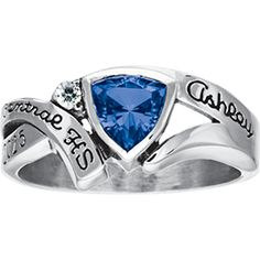 I want a ring that's like this, but isn't a high school ring...
