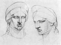 Картинки по запросу построение гипсовой головы венеры