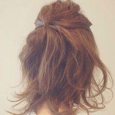 ☆脱コンサバ、カジュアルハーフアップ☆ Hair Arrange, Long Hair Styles, Womens Fashion, Image, Beauty, Long Hairstyle, Women's Fashion, Long Haircuts, Woman Fashion