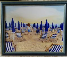 Aankomst Italiaans strand