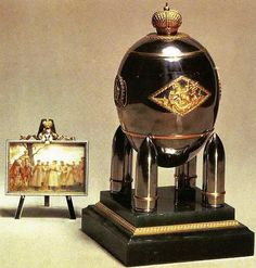 Faberge, Steel Military, 1916,