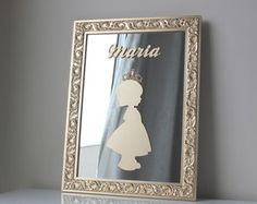 Porta de Maternidade Princesa c Espelho