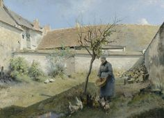 Amells (Stand S12) / Carl Larsson  - A la campagne - 1883