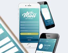 """Check out new work on my @Behance portfolio: """"The Mall Mobile UI Kit free version"""" http://be.net/gallery/37119073/The-Mall-Mobile-UI-Kit-free-version"""