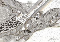 """""""smokers corner"""", #Zeichnung #Pigmenttusche (#PITT #artist #pen Faber-Castell ) auf #Hahnemühle #Papier """"Nostalgie"""", 190 g/m2 21 x 30 cm, © #matthias #hennig 2015    """"smokers corner"""", #india #ink #drawing (#PITT #artist #pen Faber-Castell ) on #Hahnemuehle #paper """"Nostalgie"""",190 g/sqm 21 x 30 cm, © #matthias #hennig 2015"""
