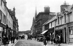 Old photograph of Wick, Scotland