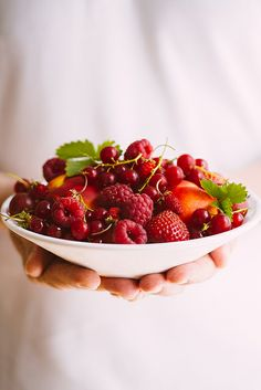 ღღ Bowl of summer fruits | Flickr - Photo Sharing!