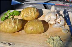 Garlic Butter Braai Potatoes