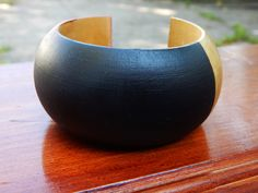 New to TheBlackerTheBerry on Etsy: African Wood Bangle African Bracelets Red Gold Black Wood Bangle Handmade Cute African Jewelry Afrocentric Ethnic Gift Ideas Cute Bracelet