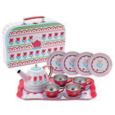 Imaginarium tin tea set