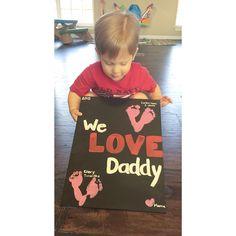 Daddy's Valentine's Day gift