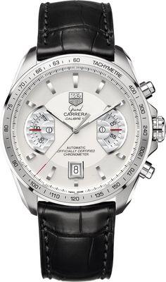 TAG Heuer Watch Grand Carrera Chronograph Calibre