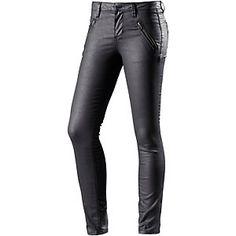<title>TOM TAILOR Jona Skinny Fit Jeans Damen black denim im Online Shop von SportScheck kaufen</title>