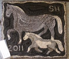 1000 Images About Rug Hooking Animals On Pinterest Rug