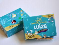 caixa convite chá de bebê/chá de fraldas