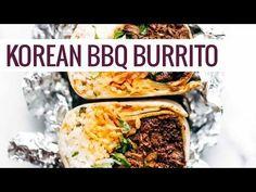 Korean BBQ Bangkok Burrito - Pinch of Yum