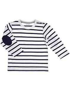 Tee-shirt jersey rayé                                                                                                                                                                                                 white Petit garçon