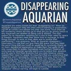 Aquarius man disappears