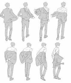 Manga Drawing, Suit Drawing, Jacket Drawing, Drawing Base, Body Drawing, Anatomy Drawing, Figure Drawing, Take Off Clothes, Pose Reference