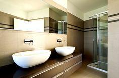 Ein ideales Badezimmer