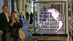 The extraordinary Hublot Sphere showcase brightened up the streets of Mykonos during the summer.
