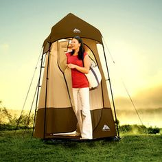 $39.88 Ozark Trail Shower Utility Room- for primitive camping with no facilities?