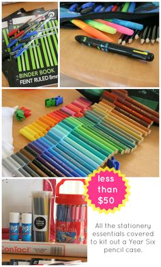 Back to school stationery essentials from Target