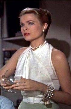 """Grace Kelly in 'Rear Window'. """"Janela Indiscreta"""" 1954."""