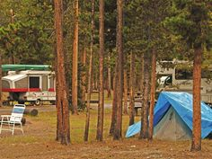 Madison Campground in Yellowstone - our favorite campground