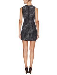 Tweed Shift Dress from Flatware on Gilt