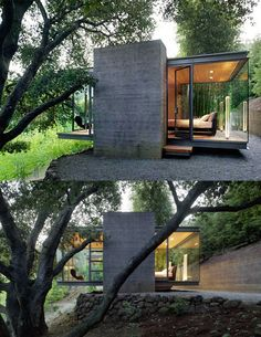Modern tea-house, Silicone Valley, CA, USA  | Swatt & Miers Architects | Photos: Tim Griffith