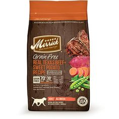 Merrick Grain Free Real Texas Beef + Sweet Potato Recipe ... https://www.amazon.com/dp/B00C3CB61K/ref=cm_sw_r_pi_dp_N3fzxbKKASXNM