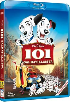 Disney 17: 101 Dalmatialaista (Blu-ray) (Blu-ray) 12.90€/vain bluray