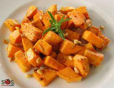 Recette - Patates douces au romarin   SOS Cuisine