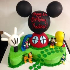 Mickey Mouse Clubhouse 3-D Cake