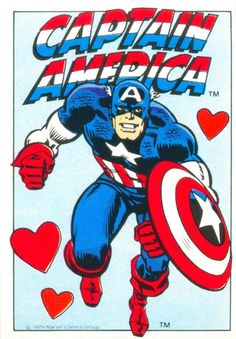 Cartes de St Valentin Marvel
