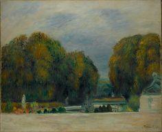 Auguste Renoir (French, 1841–1919). Versailles, 1900–1905. The Metropolitan…