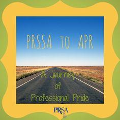 "#PRSSA To #APR: A Journey Of Professional Pride"" by Marissa Segundo, APR (5/5/14) Organizational Management, Young Professional, Public Relations, Pride, Journey, Inspirational Quotes, Community, Social Media, Career"